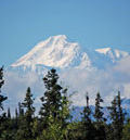 Denali, or Mt. McKinley is just a flight-seeing trip away from your cabin in the woods.